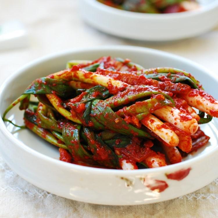 Pa Kimchi chuẩn Vị Hàn Quốc - Ẩm thực Hàn Quôc - Busan Food's